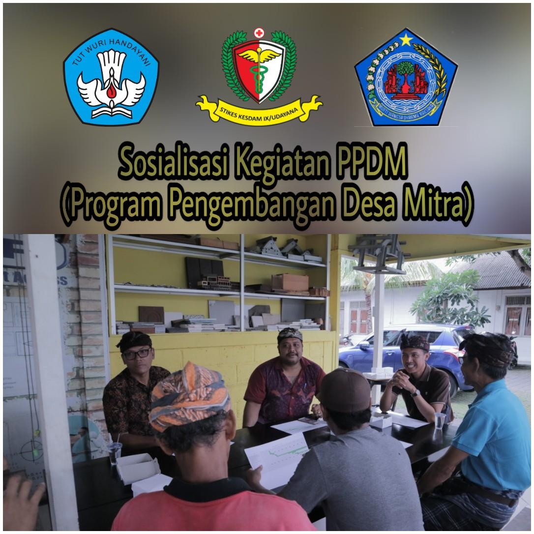 Sosialisasi Kegiatan PPDM (Program Pengembangan Desa Mitra)